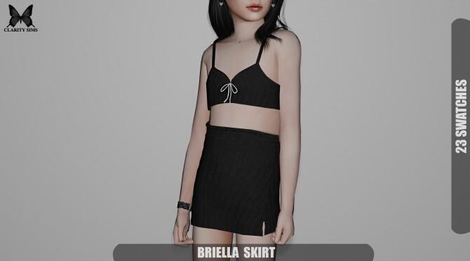 Sims 4 Briella Set at Clarity Sims