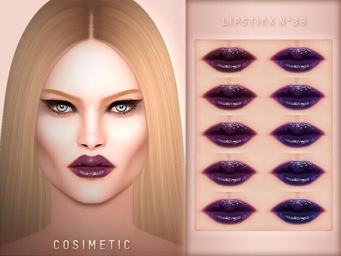 Lipstick N38 by cosimetic