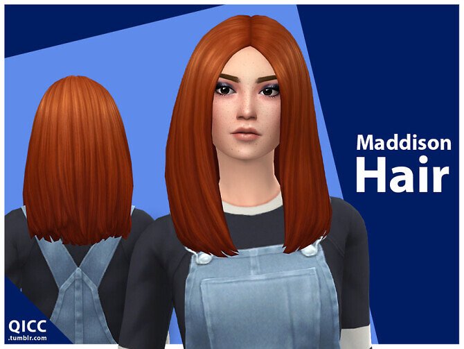 Maddison Hair by qicc