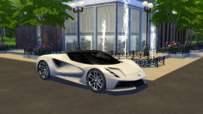 Sims 4 Lotus Evija at LorySims
