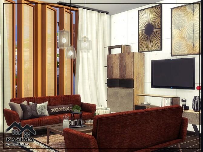 Sims 4 KASIMA house by marychabb at TSR