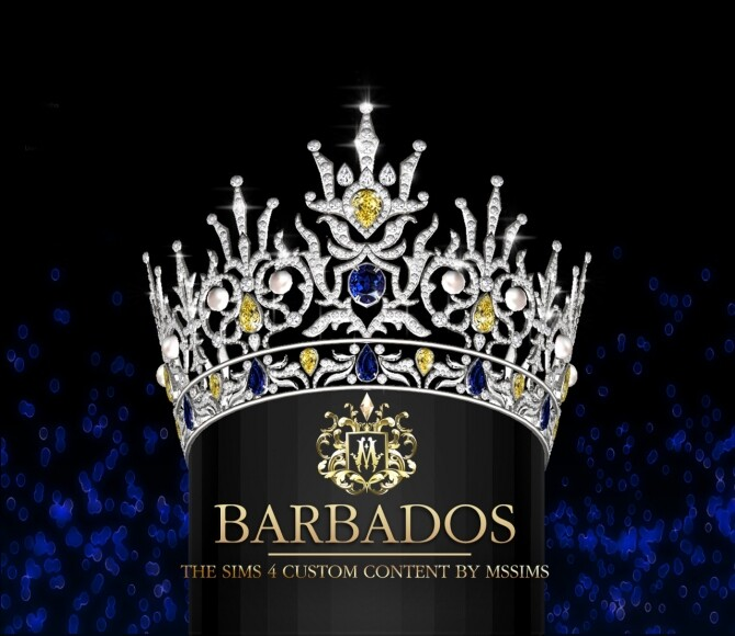 BARBADOS CROWN