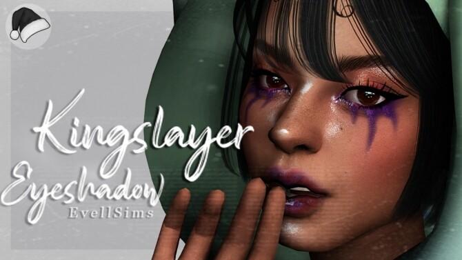 Sims 4 Kingslayer Eyeshadow at EvellSims