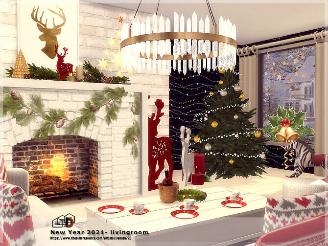 New Year 2021 livingroom by Danuta720