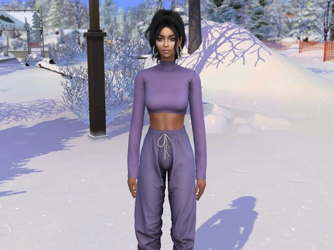 Sims 4 Denise Wade by Jolea at TSR