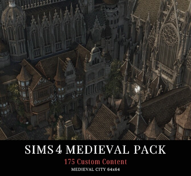 Sims 4 MEDIEVAL PACK at AggressiveKitty