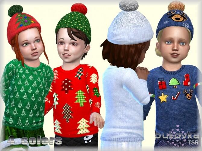Sims 4 Hat Christmas by bukovka at TSR