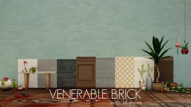 VENERABLE BRICK WALL PACK by amoebae