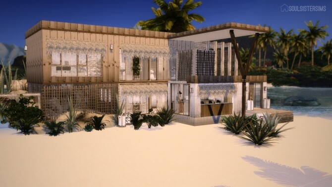 Sims 4 Christmas on the Beach at SoulSisterSims