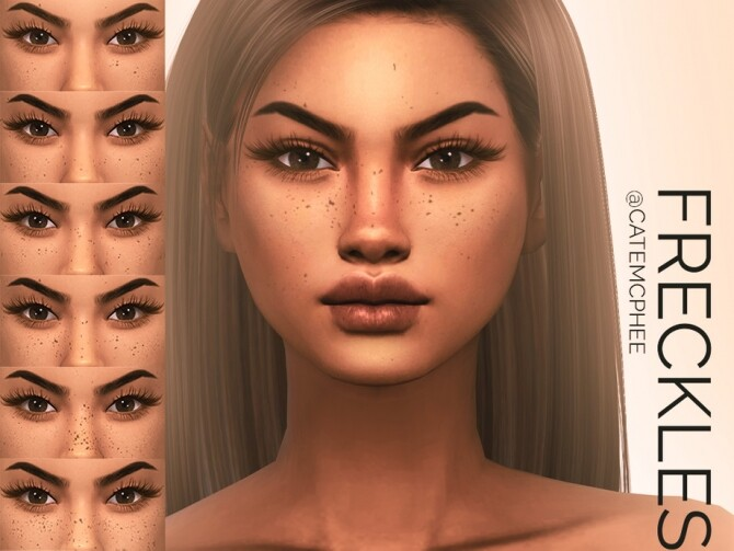 Sims 4 FR 05 Sun Kissed Freckles by catemcphee at TSR