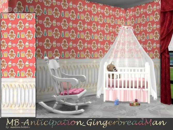MB Anticipation Gingerbread Man Wallpaper by matomibotaki