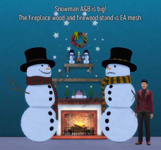 Sims 4 Xmas Decor Set at Haruinosato's CC