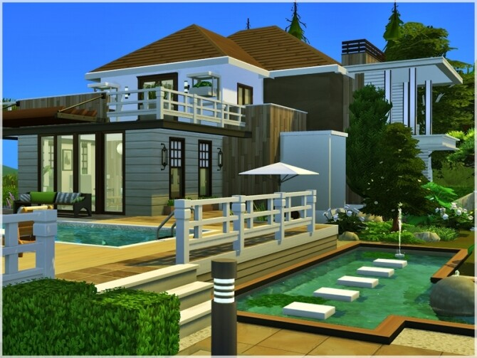 Sims 4 Evelina house by Ray Sims at TSR