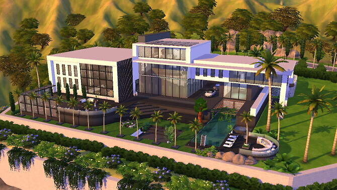 Celebrity Modern Mansion by Bellusim
