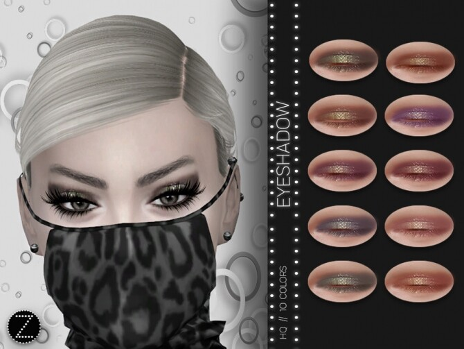 Sims 4 EYESHADOW Z01 by ZENX at TSR
