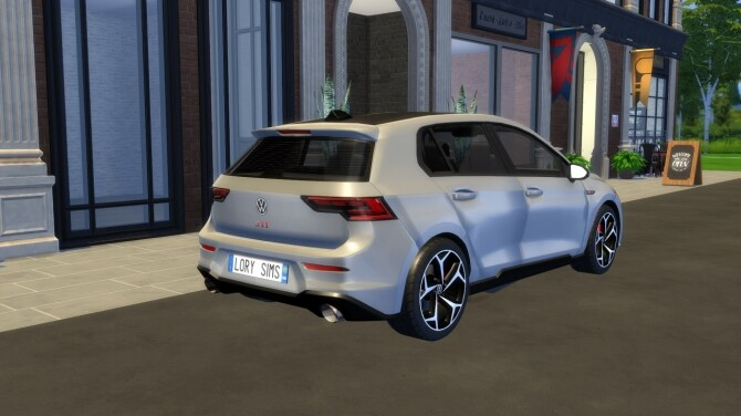 Sims 4 Volkswagen Golf GTI 21 by LorySims at LorySims