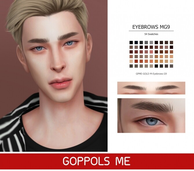 GPME-GOLD M-Eyebrows G9