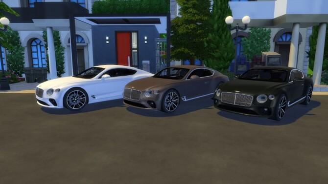 Sims 4 Bentley Continental GT at LorySims