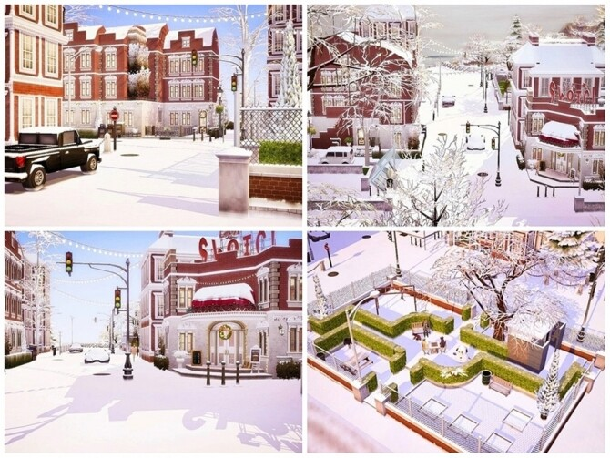 Sims 4 Charms of Old Neighborhoods by Moniamay72 at TSR