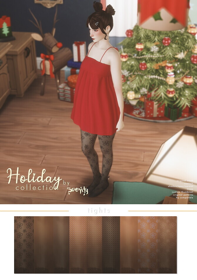 Sims 4 Holiday Fashion Collection at SERENITY