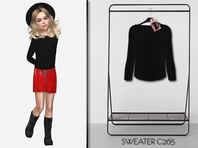 Sims 4 Sweater C265 by turksimmer at TSR