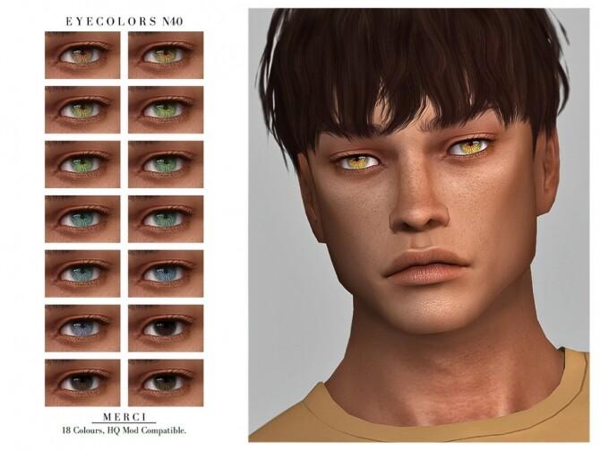 Sims 4 Eyecolors N40 by Merci at TSR