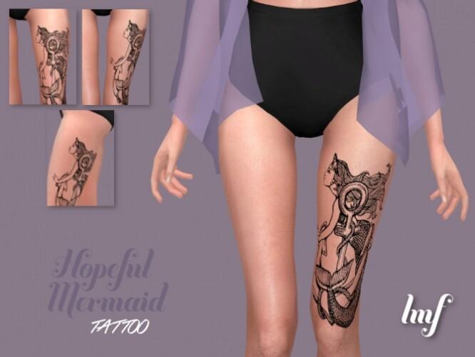 IMF Tattoo Hopeful Mermaid by IzzieMcFire