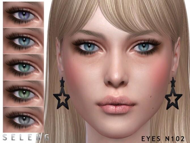 Sims 4 Eyes N102 by Seleng at TSR