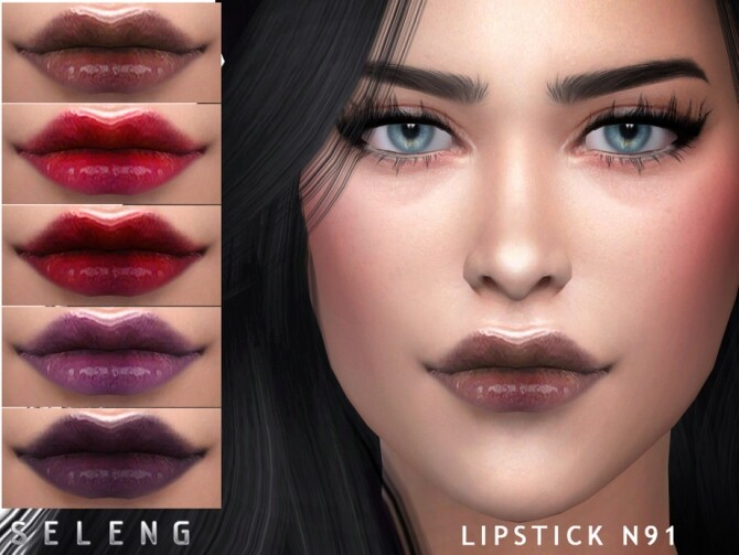 Sims 4 Lipstick N91 by Seleng at TSR