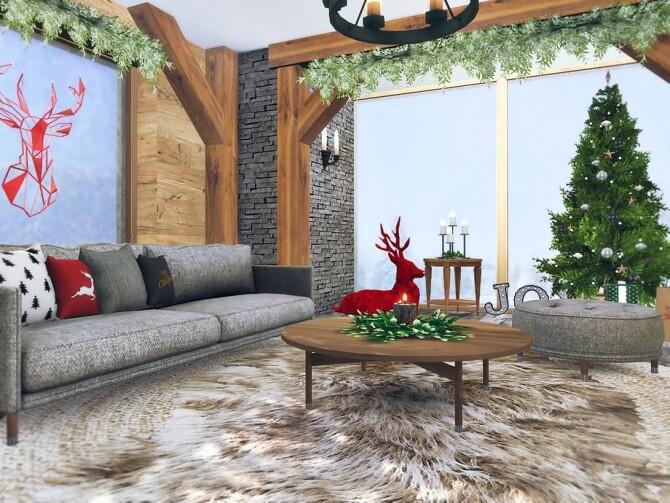 Sims 4 Noella Living Room by Rirann at TSR