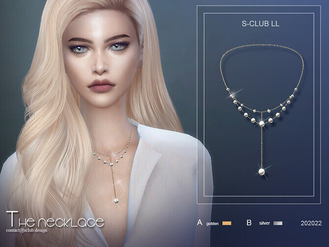 Necklace 202022 by S-Club LL