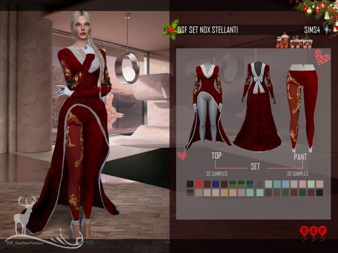 Sims 4 DSF SET NOX STELLANTI by DanSimsFantasy at TSR