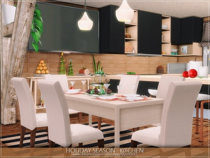 Holiday Season Kitchen by MychQQQ