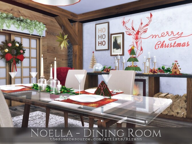 Noella Dining Room by Rirann