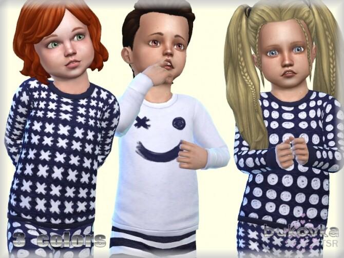 Sims 4 Sweater Tic Tac toe by bukovka at TSR