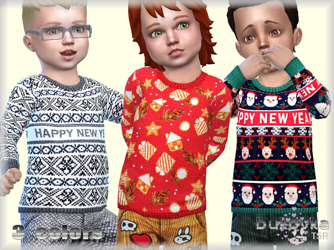 Sweater Happy New Year by bukovka