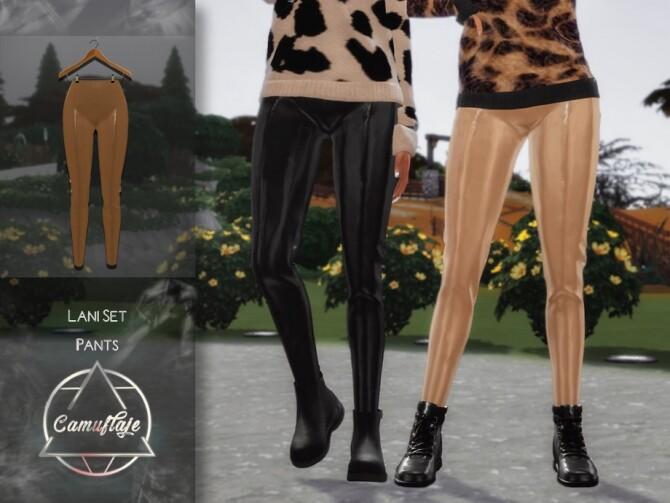 Sims 4 Lani Pants by Camuflaje at TSR
