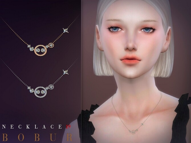 Sims 4 Necklace 19 by Bobur3 at TSR