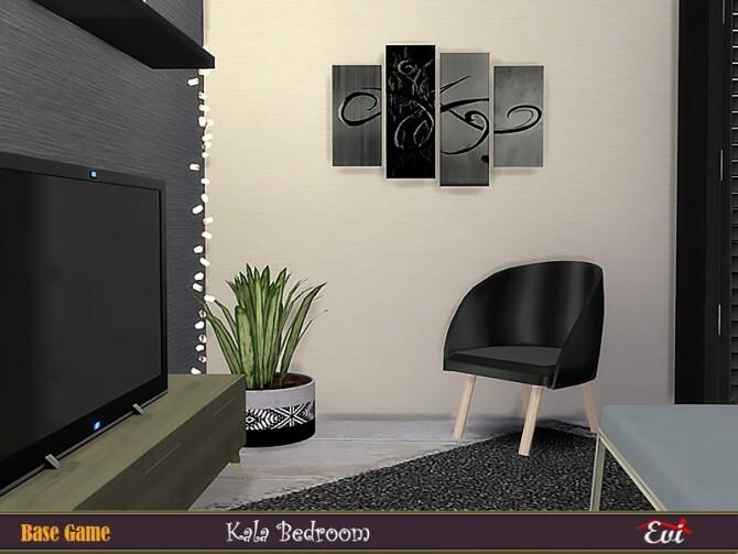 Sims 4 Kala Bedroom by evi at TSR