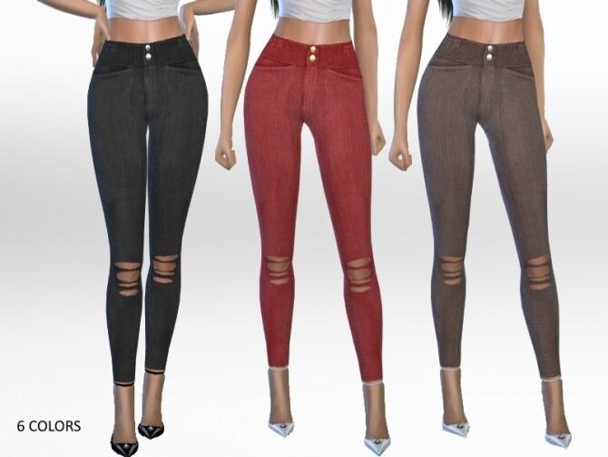 Sims 4 Marina Pants by Puresim at TSR