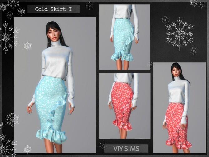 Sims 4 Skirt Cold I   VI by Viy Sims at TSR
