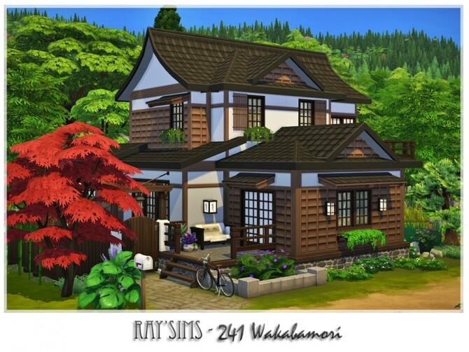 Sims 4 241 Wakabamori home by Ray Sims at TSR