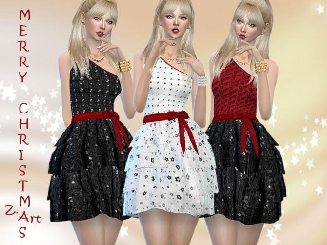 Sims 4 DreamZ 11 Dress by Zuckerschnute20 at TSR