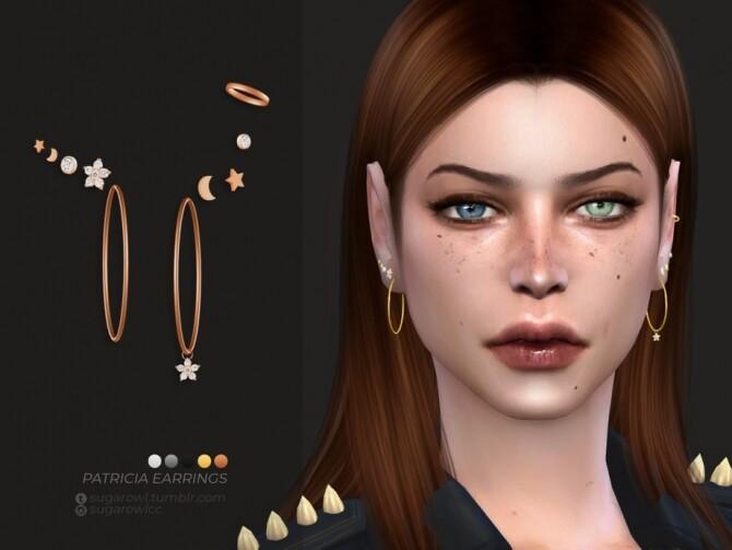 Patricia earrings by sugar owl