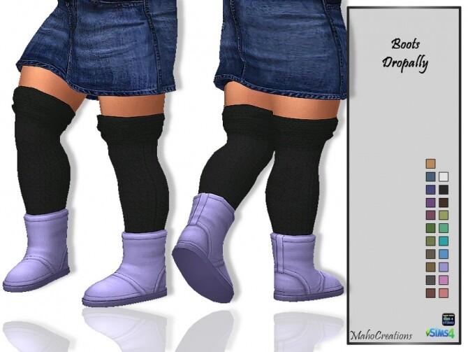 Boots Dropally by MahoCreations