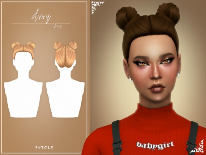 Amy Hairstyle by EnriqueS4