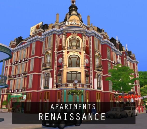 Apartments Renaissance No CC by PinkCherub