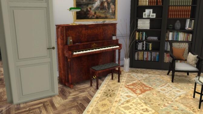 Sims 4 Kurtzmann Piano by PeterJames88 at TSR