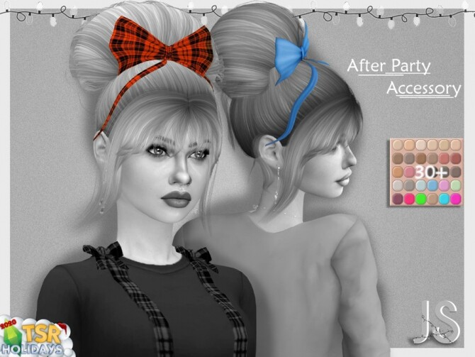 After Party Hair Acc Holiday Wonderland by JavaSims