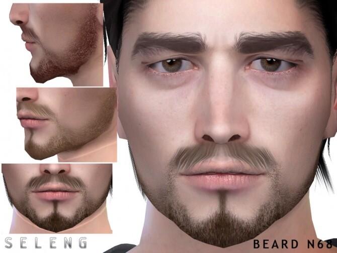 Sims 4 Beard N68 by Seleng at TSR
